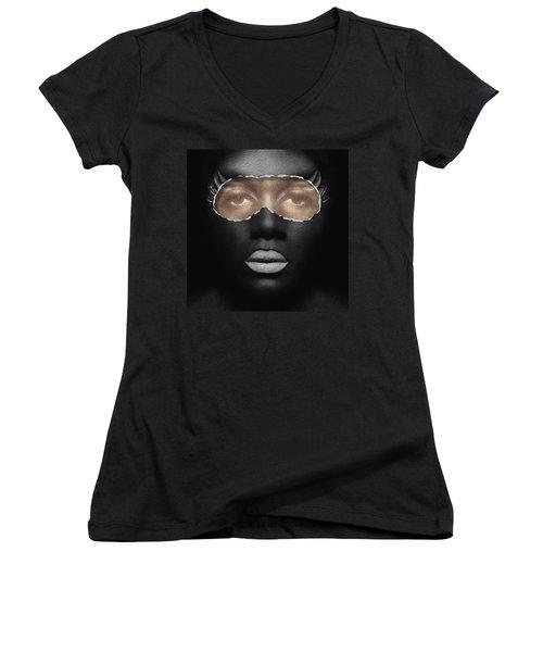 Thin Skinned Women's V-Neck T-Shirt