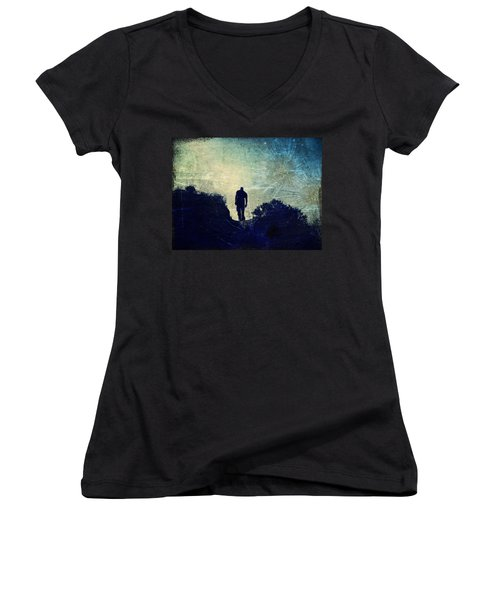 This Is More Than Just A Dream Women's V-Neck T-Shirt (Junior Cut)