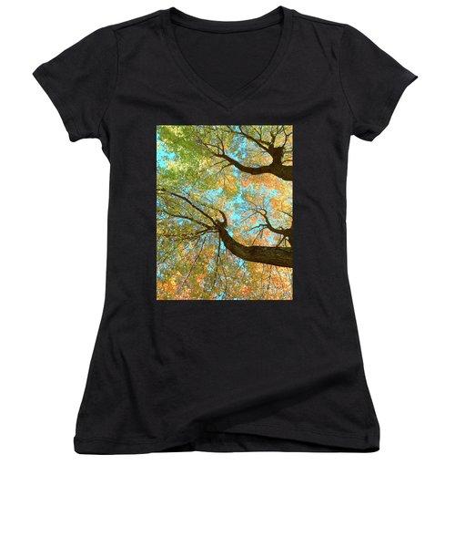 Thousands Of Voices Women's V-Neck T-Shirt