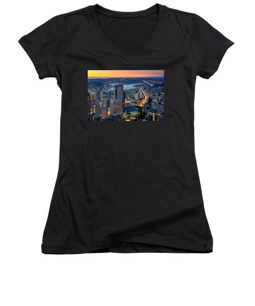Threads Of Life Women's V-Neck T-Shirt