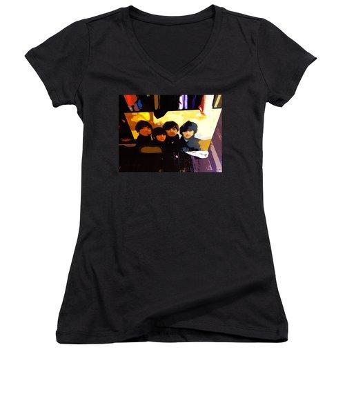 Thrift Shop Women's V-Neck