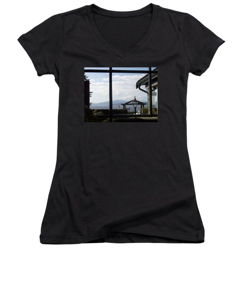 Through The Looking Glass Women's V-Neck