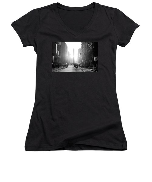Timeless Buenos Aires Women's V-Neck T-Shirt