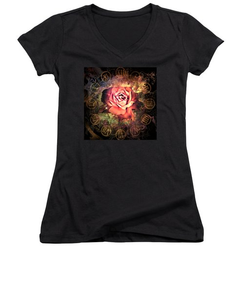 Timeless Rose Women's V-Neck