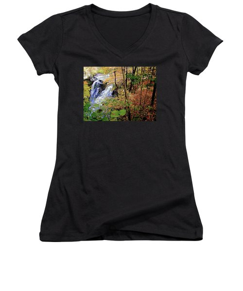 Top Of The Falls Women's V-Neck