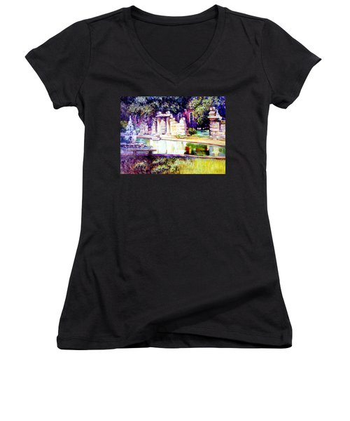 Tower Grove Park Women's V-Neck (Athletic Fit)