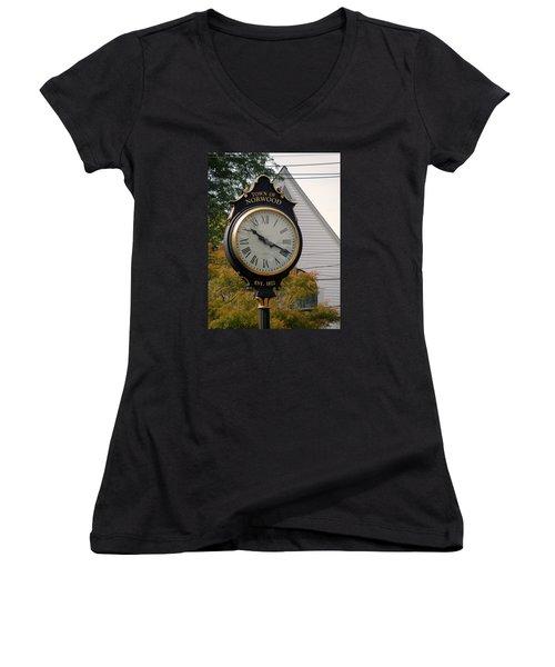 Town Landmark Women's V-Neck T-Shirt