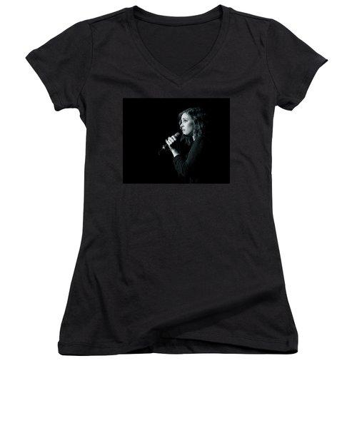 Tpa001 Women's V-Neck T-Shirt