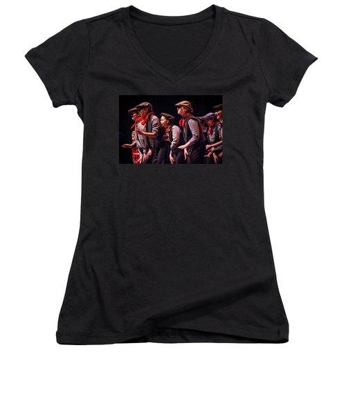 Tpa007 Women's V-Neck T-Shirt