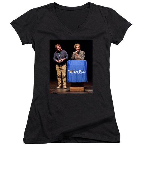 Tpa036 Women's V-Neck T-Shirt