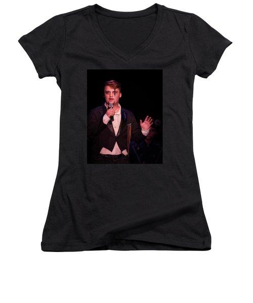 Tpa041 Women's V-Neck T-Shirt