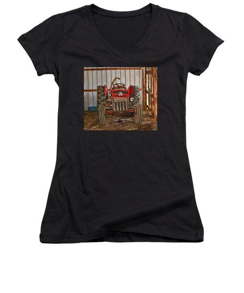 Tractor  Women's V-Neck