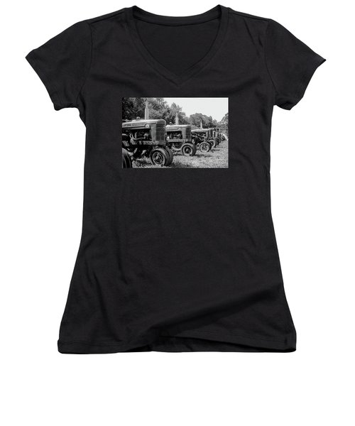 Tractors Women's V-Neck (Athletic Fit)