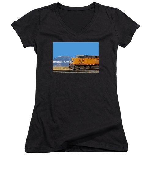 Train In Oregon Women's V-Neck
