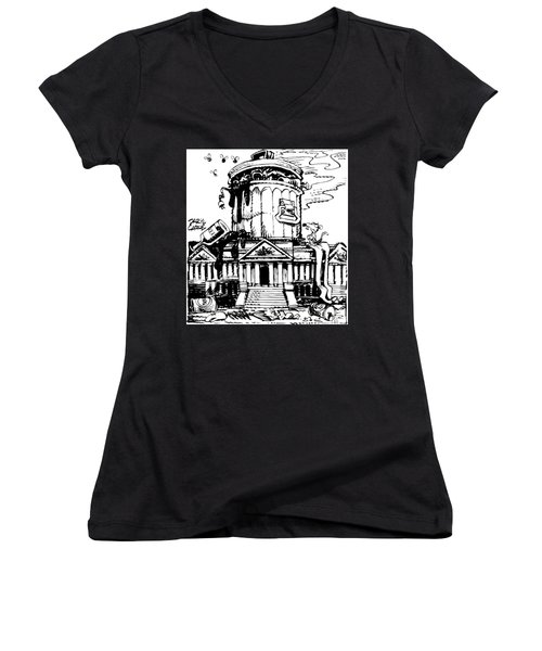Trash Congress Women's V-Neck