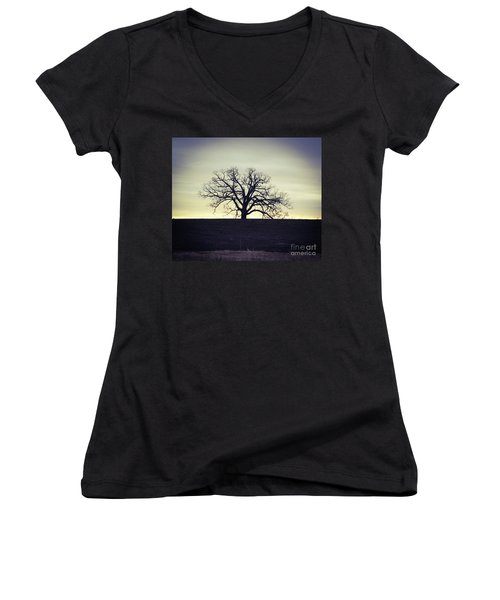Tree5 Women's V-Neck (Athletic Fit)