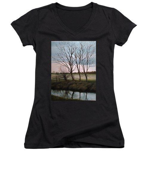 Trent Side Women's V-Neck T-Shirt