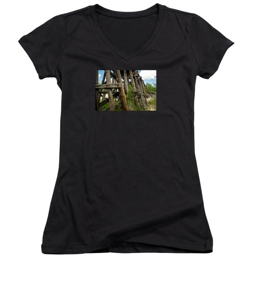 Trestle Timber Women's V-Neck