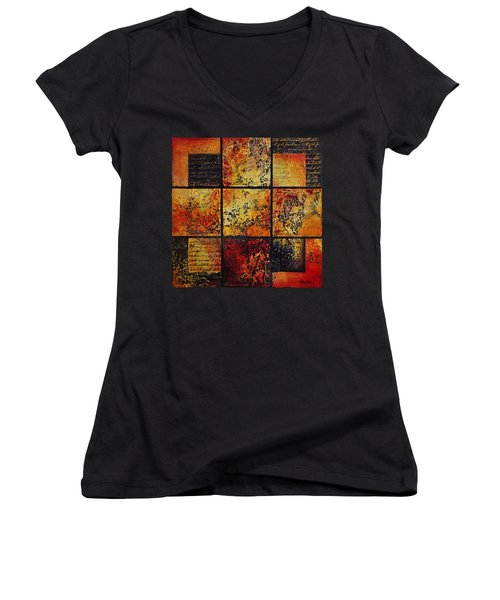 Trial By Fire Women's V-Neck (Athletic Fit)