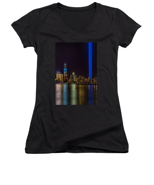 Tribute In Lights Memorial Women's V-Neck