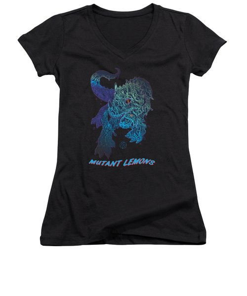 Triceratrippin Women's V-Neck T-Shirt