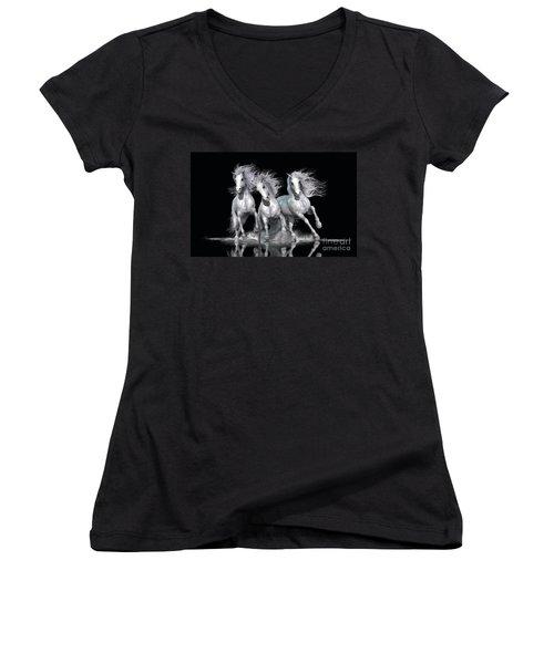 Trinity Women's V-Neck T-Shirt