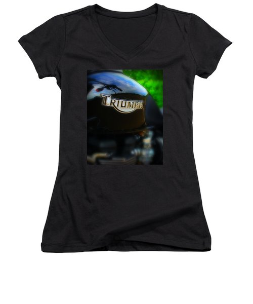 Triumph Women's V-Neck T-Shirt