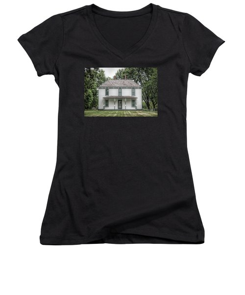 Truman Farm Women's V-Neck T-Shirt