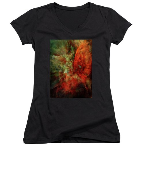 Turmoil Women's V-Neck