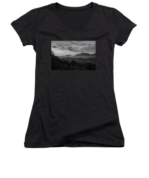 Tuscan Hills Women's V-Neck T-Shirt