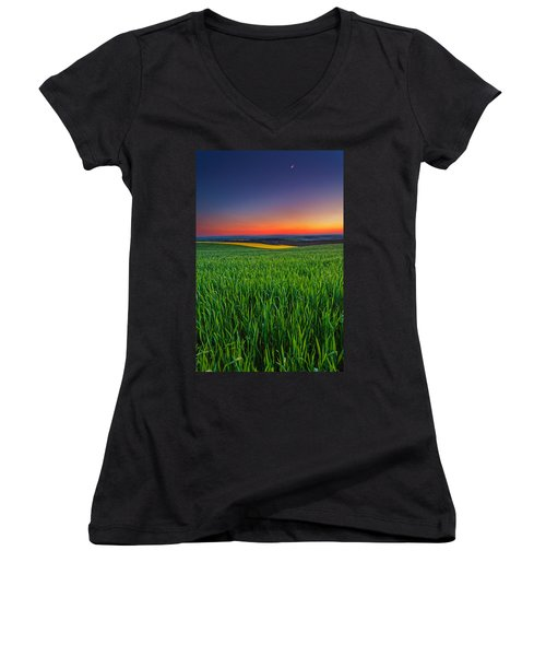 Twilight Fields Women's V-Neck