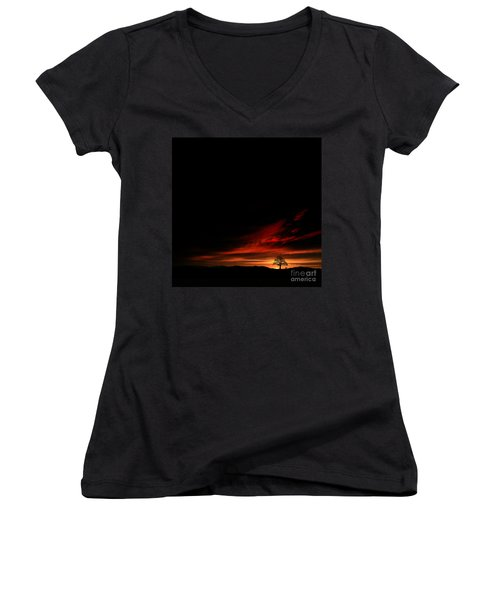 Twilight Glow Women's V-Neck