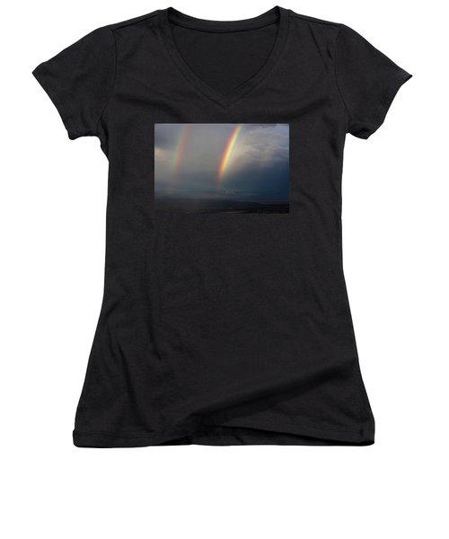Two Rainbows Women's V-Neck