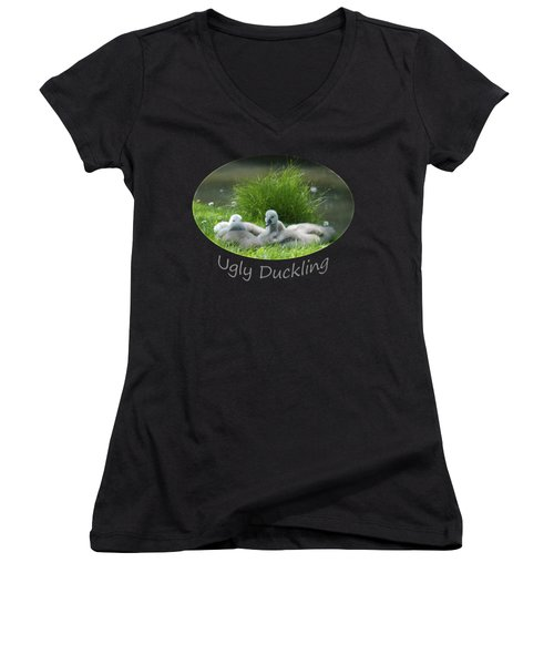 Ugly Duckling Women's V-Neck T-Shirt