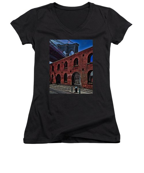 Under The Bridge Women's V-Neck
