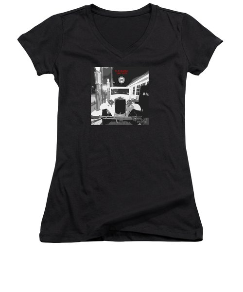 Union Made Women's V-Neck (Athletic Fit)