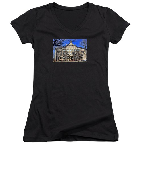 University Hall Women's V-Neck (Athletic Fit)
