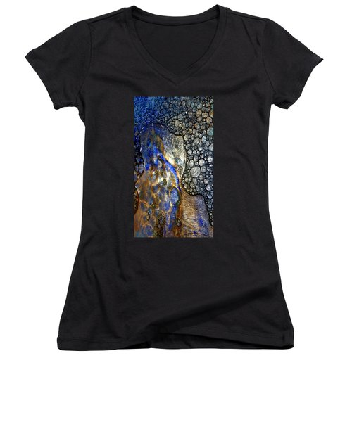 Untitled 14 Women's V-Neck (Athletic Fit)