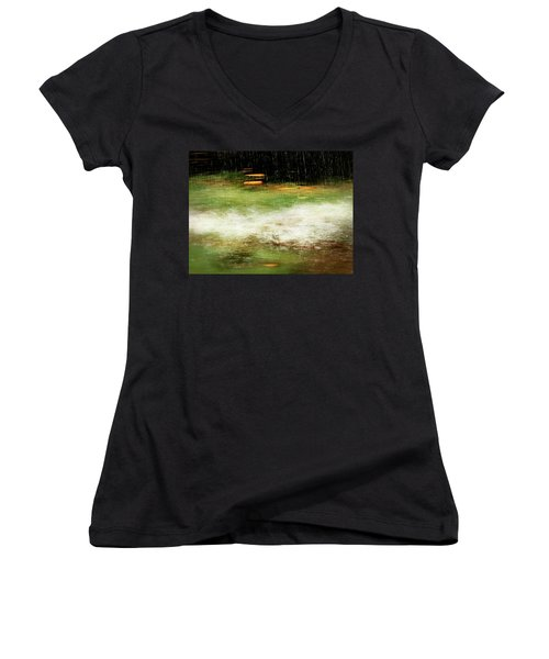 Untitled #8090498, From The Soul Searching Series Women's V-Neck T-Shirt