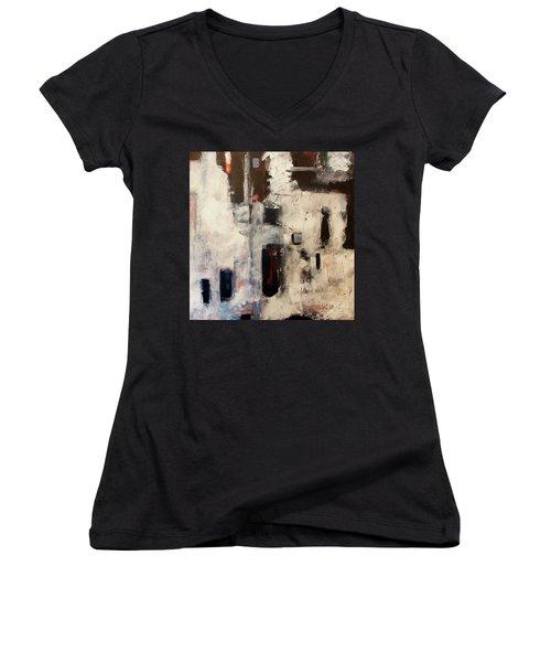 Urban Series 1601 Women's V-Neck T-Shirt (Junior Cut) by Gallery Messina
