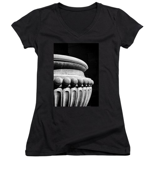 Urn At The Cathedral Women's V-Neck (Athletic Fit)