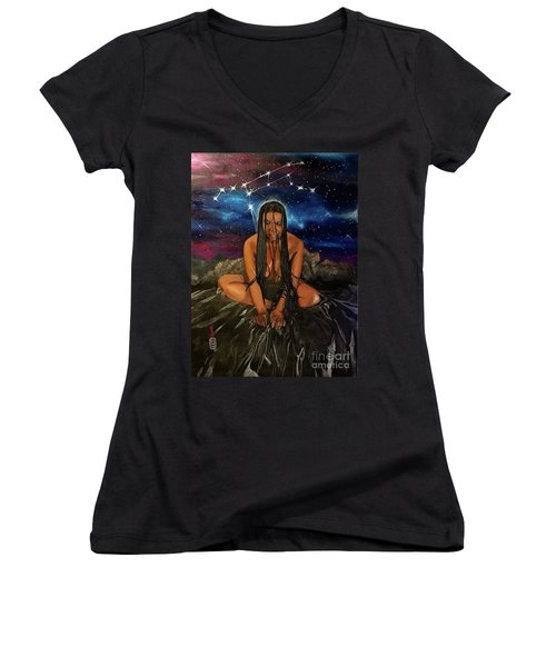 Ursa Major Women's V-Neck (Athletic Fit)