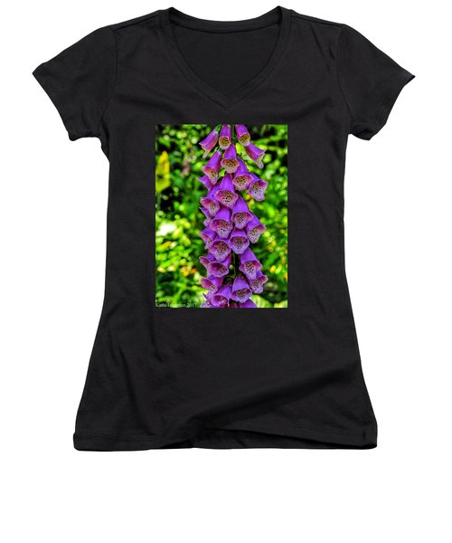 Vibrant Tones I Women's V-Neck T-Shirt