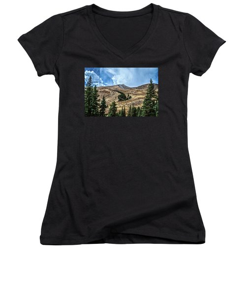 View From Guanella Pass Road Women's V-Neck