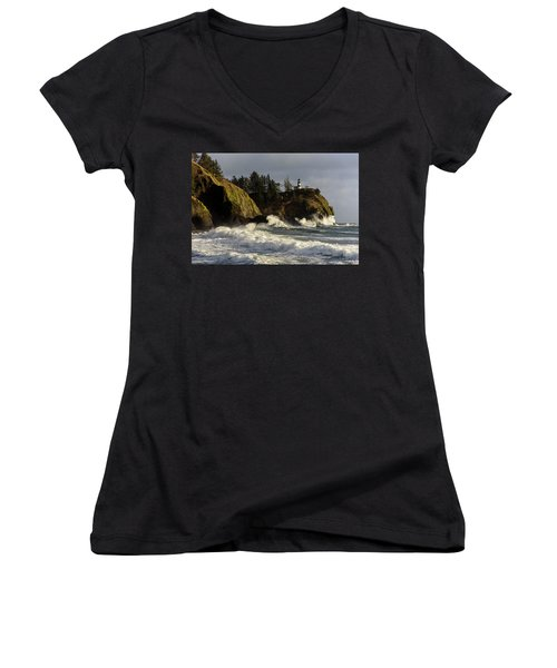 Vigorous Surf Women's V-Neck