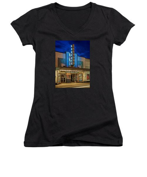Village Theater Women's V-Neck T-Shirt