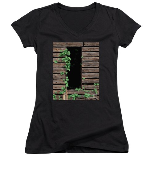 Vines Of Time Women's V-Neck (Athletic Fit)