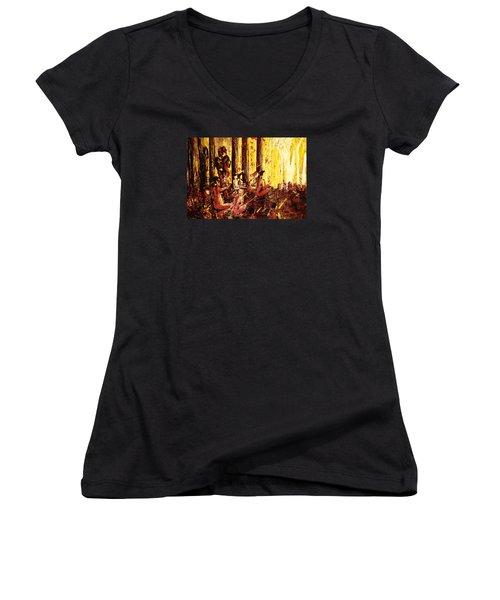 Visionaries Women's V-Neck T-Shirt