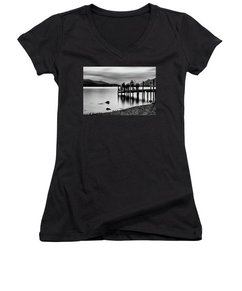 Waiting  Women's V-Neck