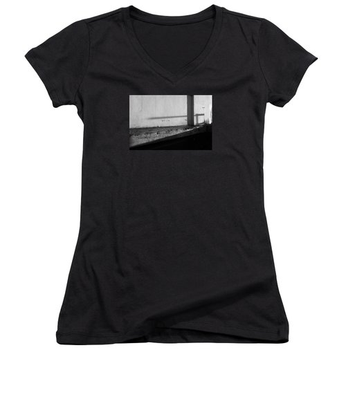 Wall And Shows 1 Women's V-Neck T-Shirt (Junior Cut) by Catherine Lau